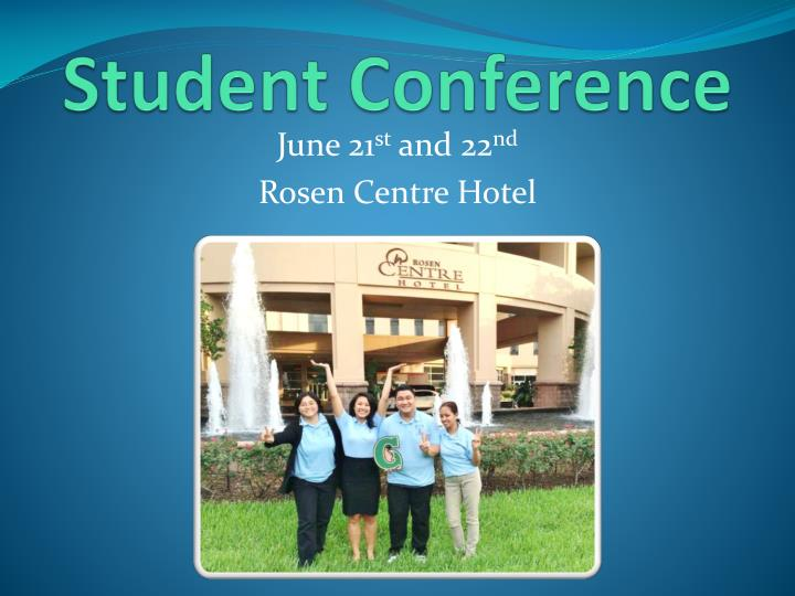 Student Conference