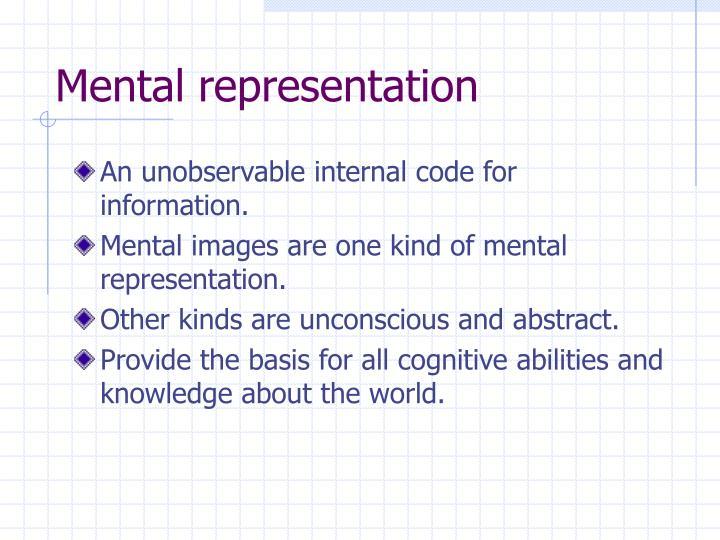 Mental representation