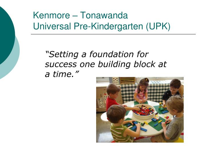 """""""Setting a foundation for success one building block at a time."""""""