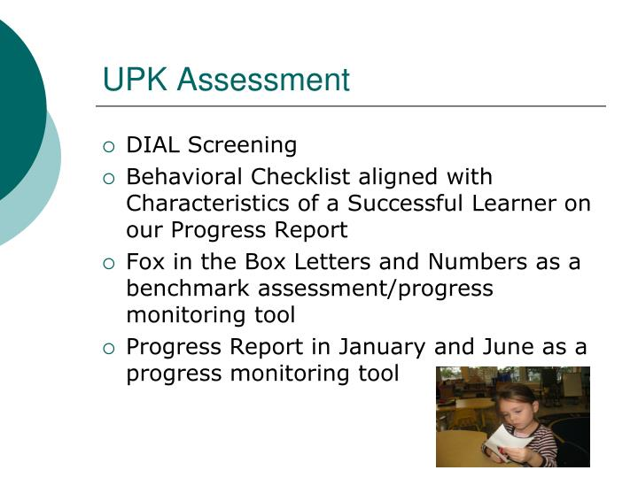 UPK Assessment