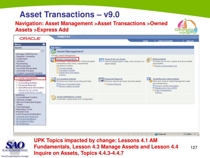 Navigation: Asset Management >Asset Transactions >Owned Assets >Express Add