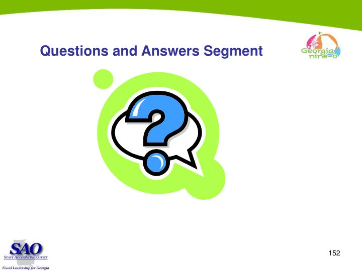 Questions and Answers Segment
