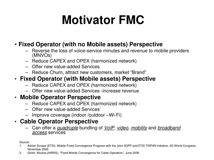 Motivator FMC