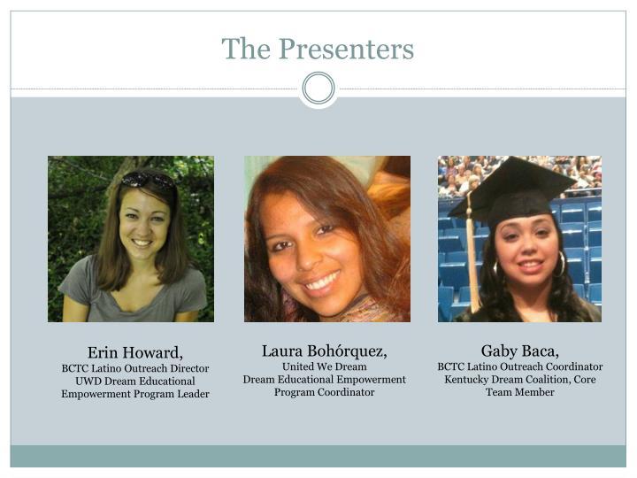 The Presenters