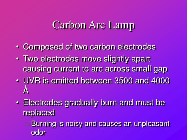 Carbon Arc Lamp