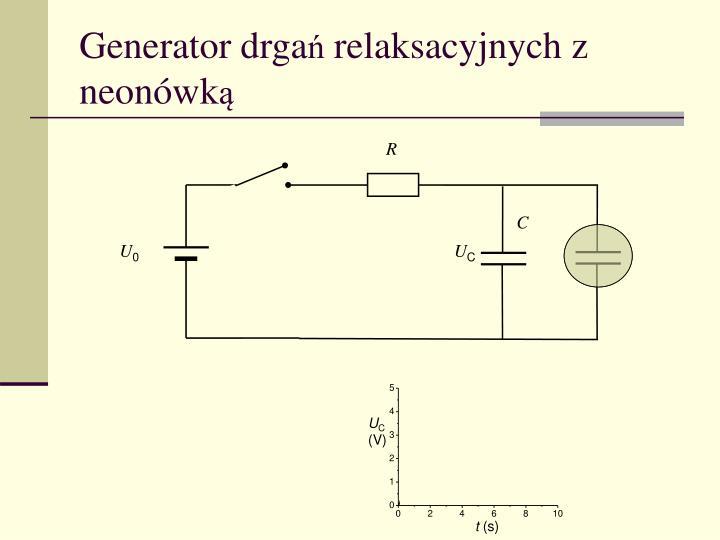Generator drga