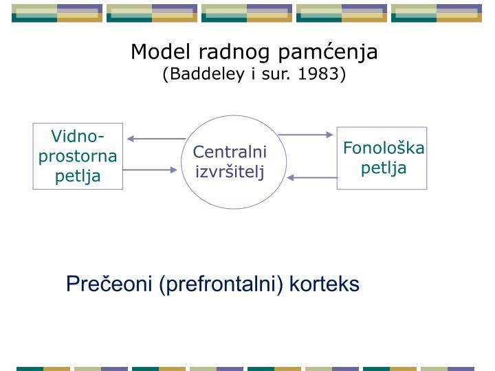 Model radnog pamćenja