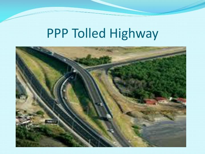 PPP Tolled Highway