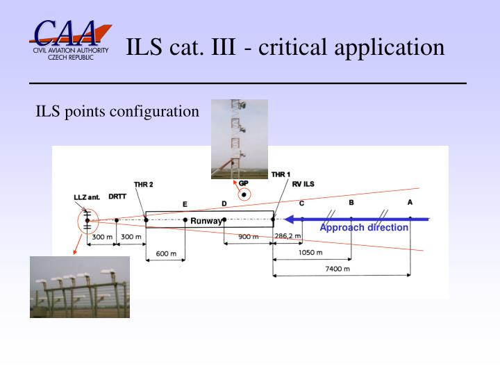 ILS cat. III