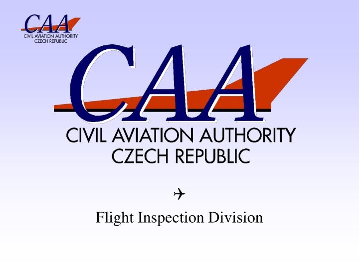 Q flight inspection division
