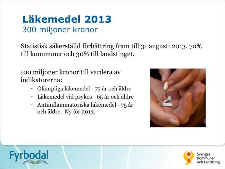 Läkemedel 2013