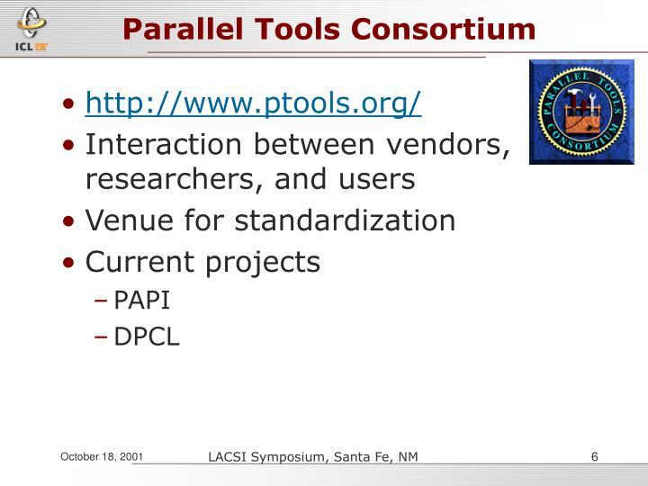 Parallel Tools Consortium