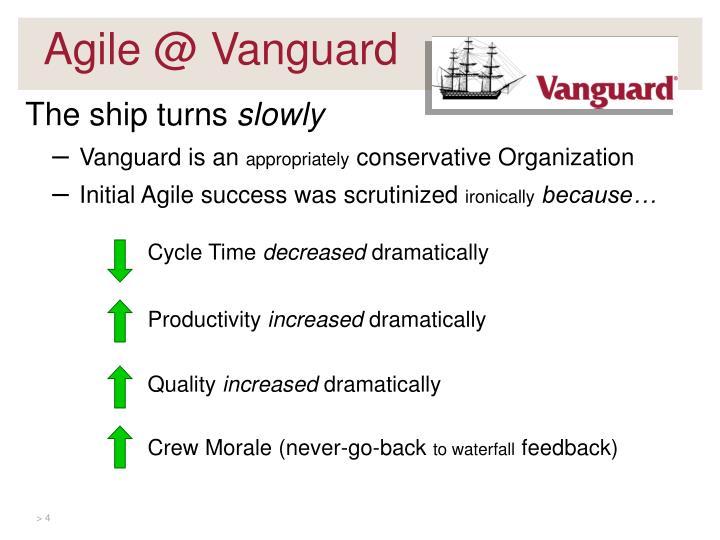 Agile @ Vanguard