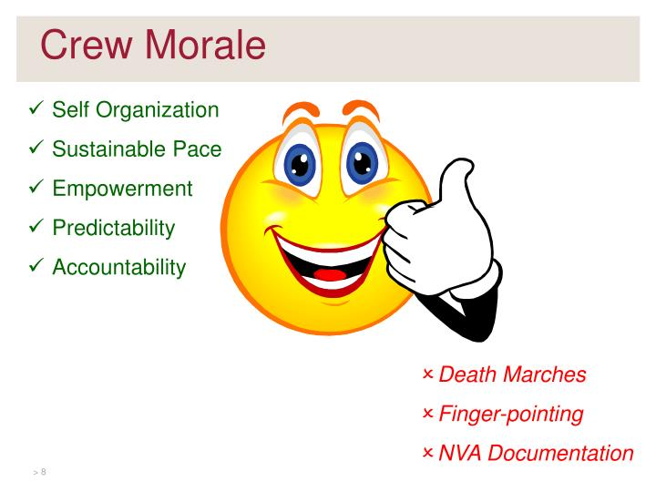 Crew Morale