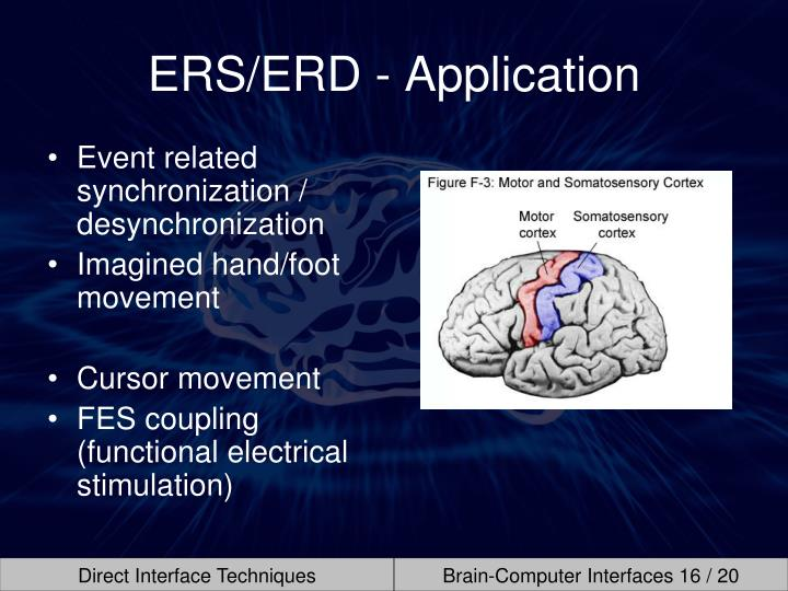 ERS/ERD - Application
