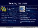 reading the brain