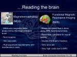 reading the brain1