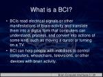 what is a bci