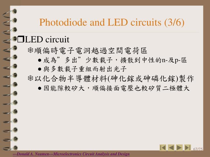 Photodiode and LED circuits (3/6)