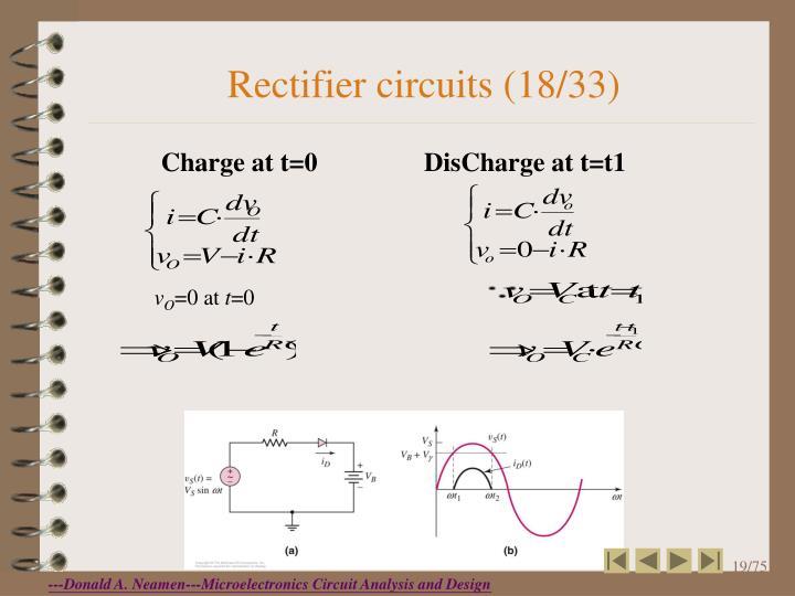 Rectifier circuits (18/33)