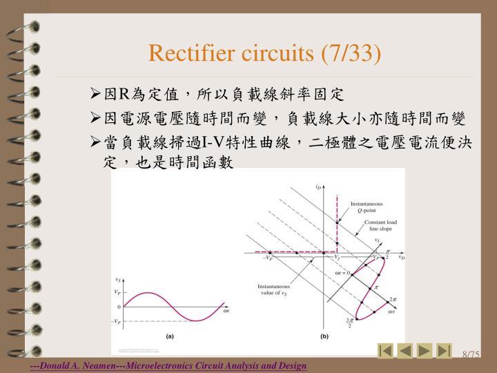 Rectifier circuits (7/33)