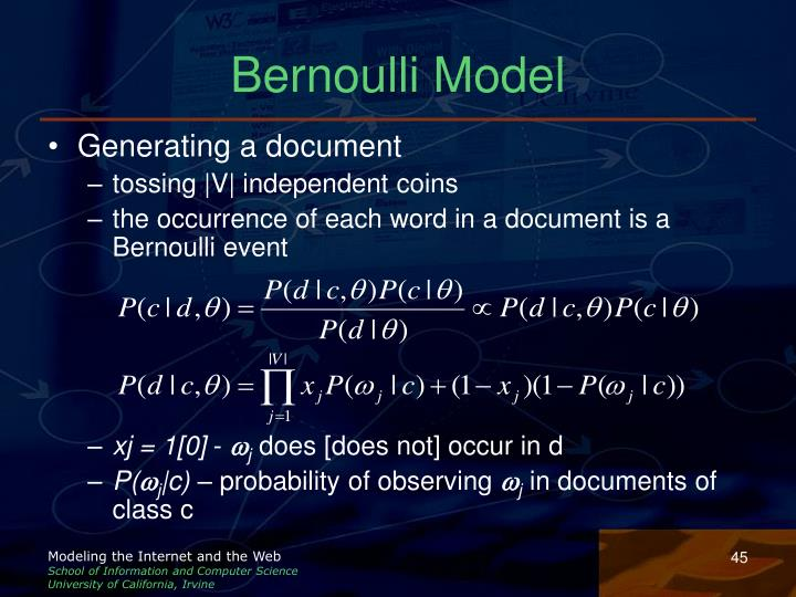 Bernoulli Model