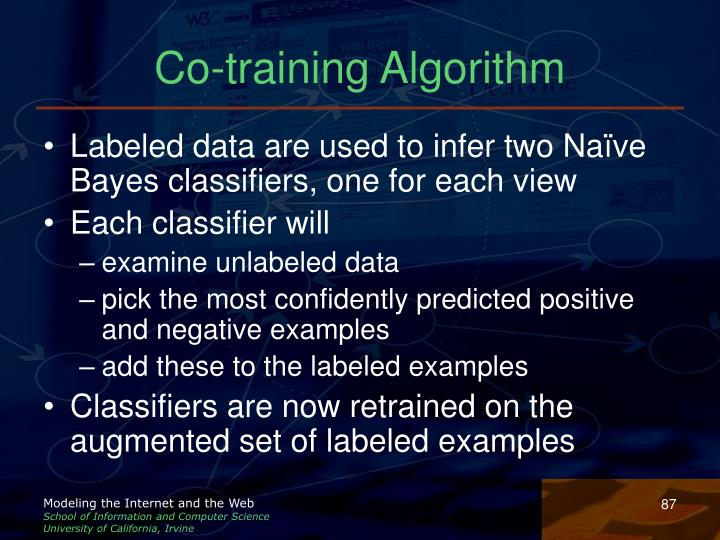 Co-training Algorithm