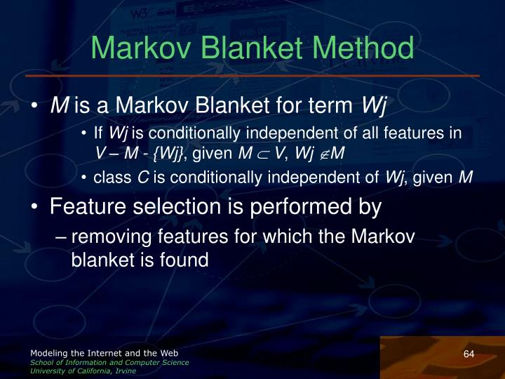 Markov Blanket Method