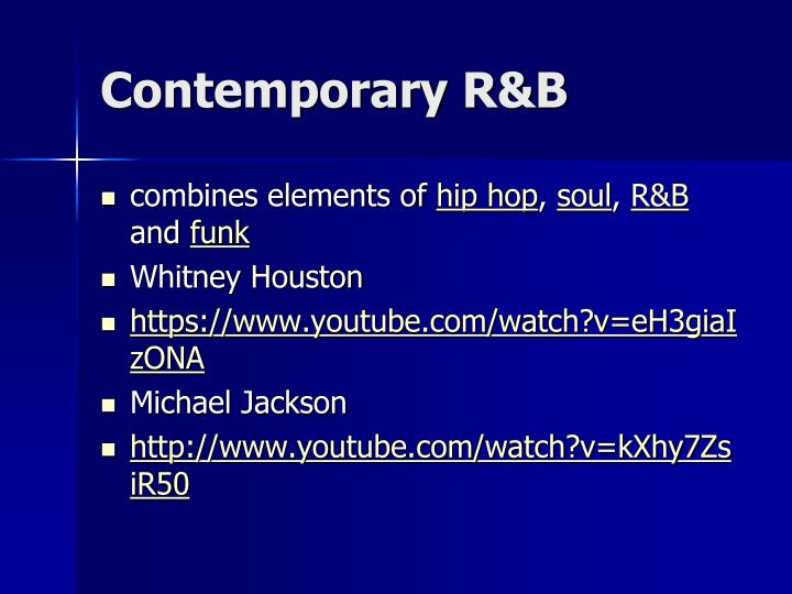 Contemporary R&B