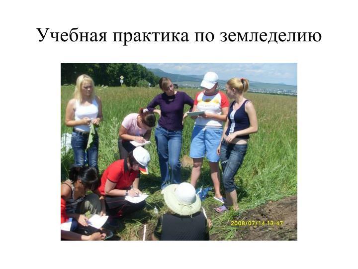 Учебная практика по земледелию