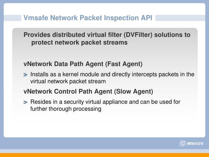 Vmsafe Network Packet Inspection API
