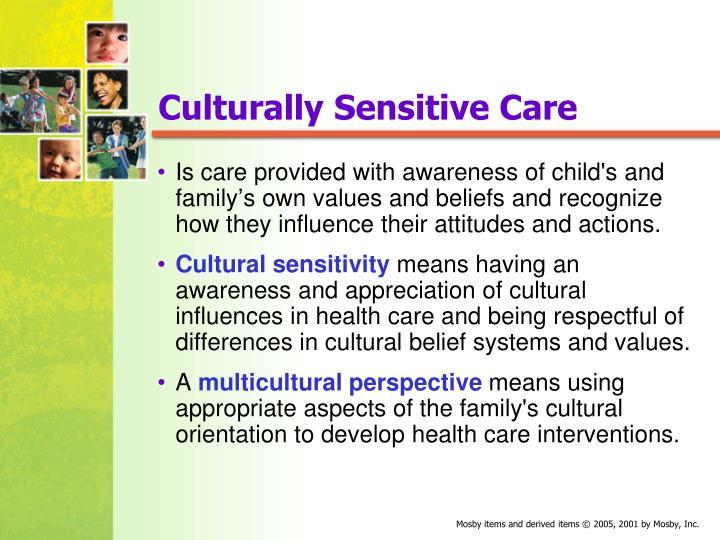 Culturally Sensitive Care