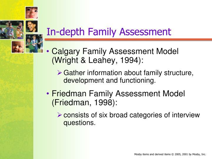 In-depth Family Assessment