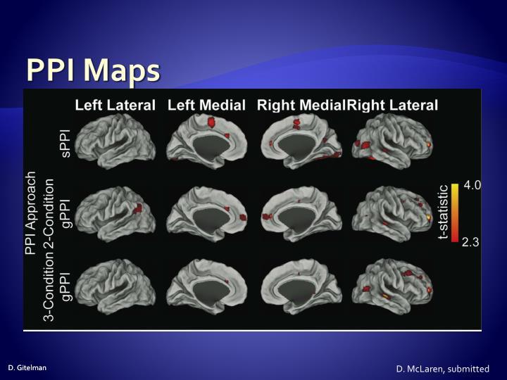 PPI Maps