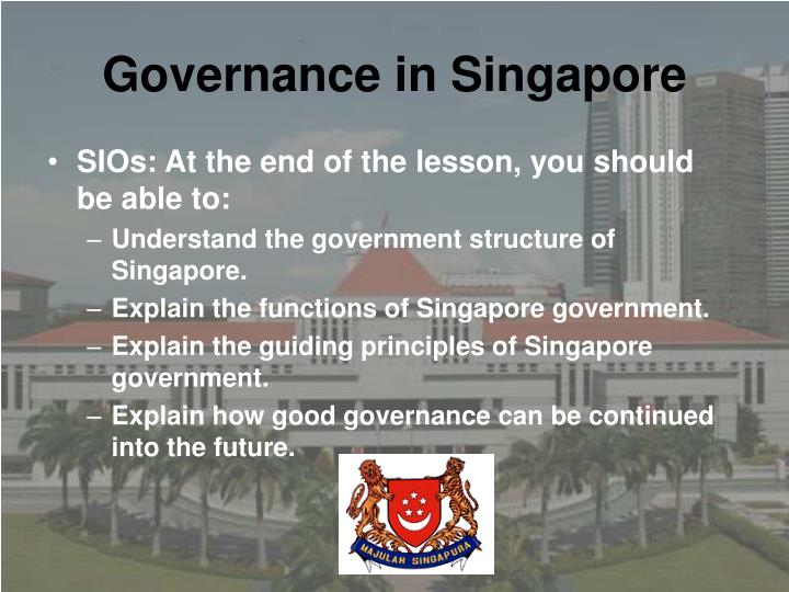 Governance in singapore1
