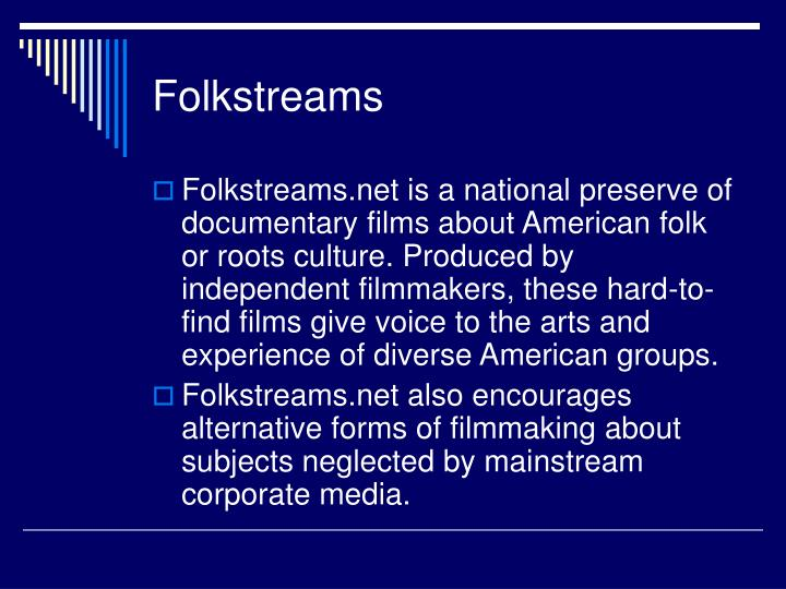 Folkstreams