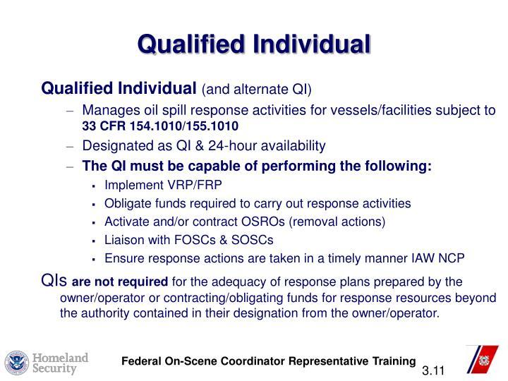 Qualified Individual