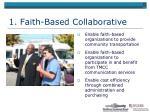 1 faith based collaborative