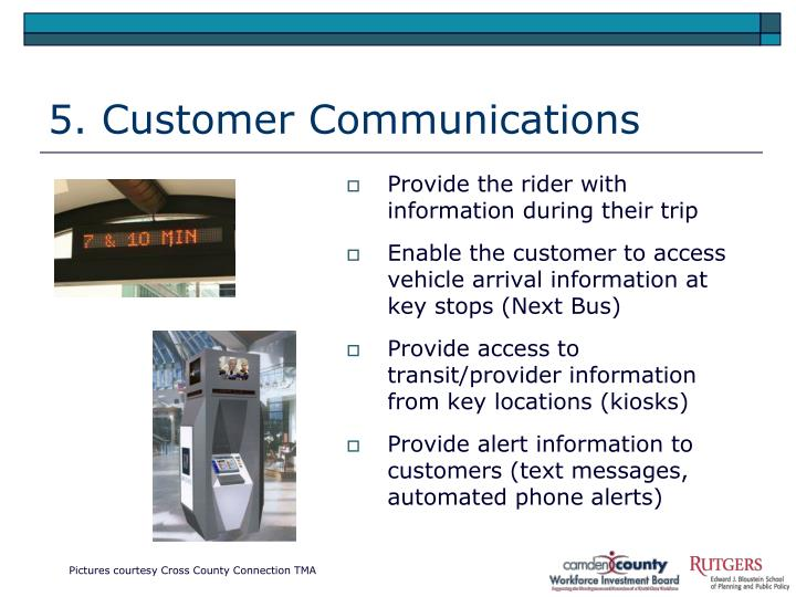5. Customer Communications