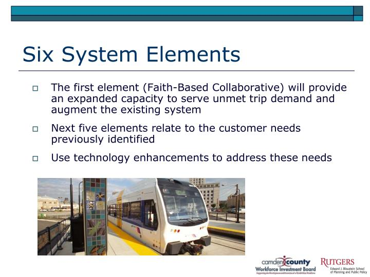 Six System Elements