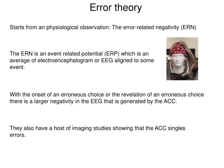 Error theory