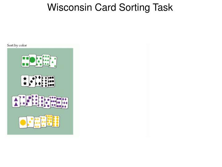 Wisconsin Card Sorting Task
