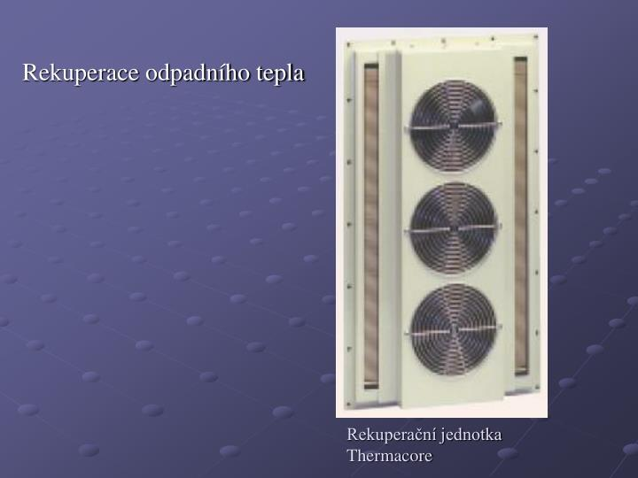 Rekuperace odpadního tepla