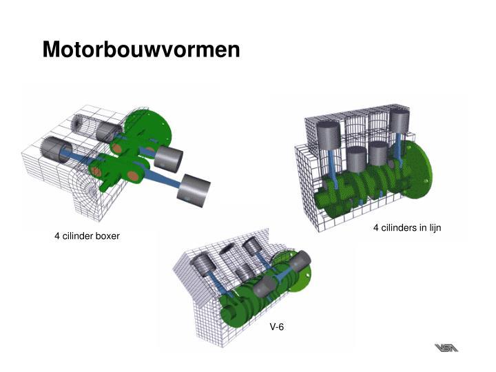 Motorbouwvormen