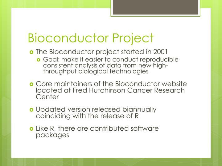 Bioconductor Project