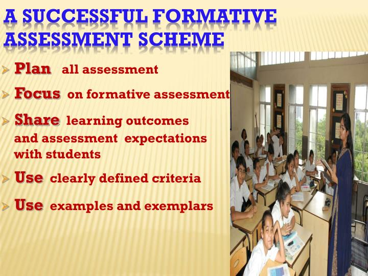 A Successful Formative
