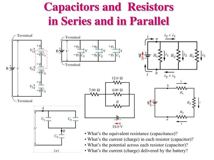 Capacitors and  Resistors