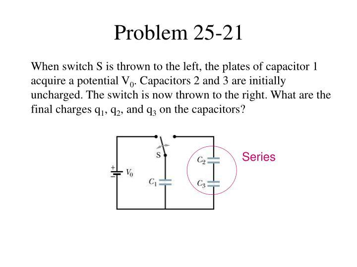 Problem 25-21