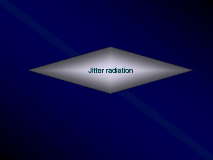 Jitter radiation