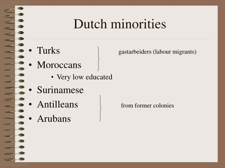 Dutch minorities